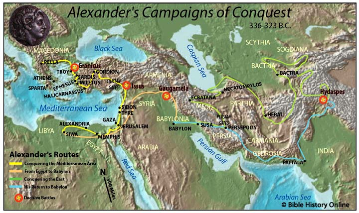 Gaugamela world of alexander the great for Great pictures of the world