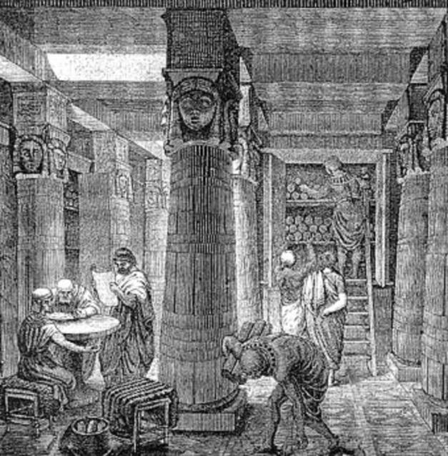 340px-Ancientlibraryalex