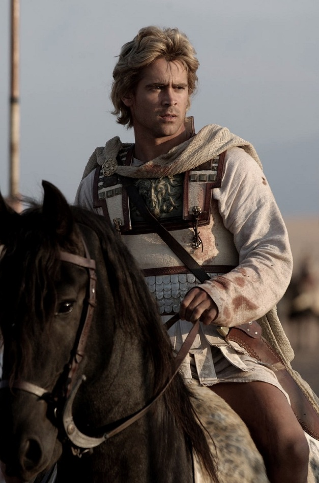 Alexander directed by Oliver Stone. Colin Farrell as Alexander The Great.