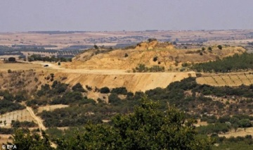The site near ancient Amphipolis lies 370 miles north of Athens.