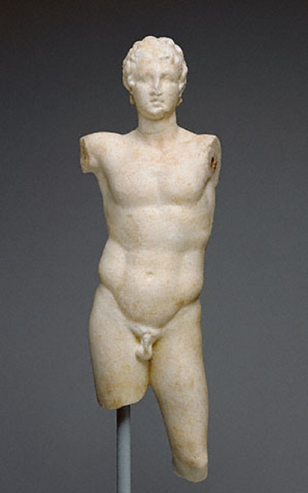 Statue of Alexander, Greek, 200 - 100 B.C, Marble